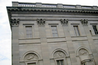 RI - Newport - Marble House - North Elevation | The Marble ...