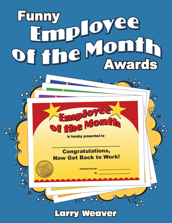 Employee Of The Month Template Funny Image Gallery - Hcpr
