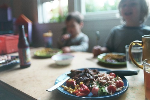 father's day dinner, as family | by cafemama