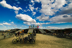 Center Camp, Burning Man 07 | by Toby Keller / Burnblue