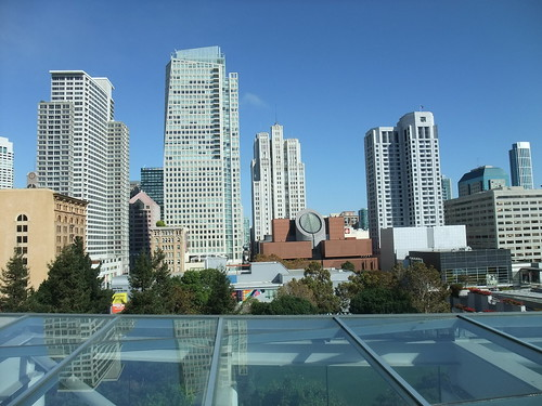 SFO Day 2: View of the San Francisco Skyline from the Roof of the Metreon | by swampkitty