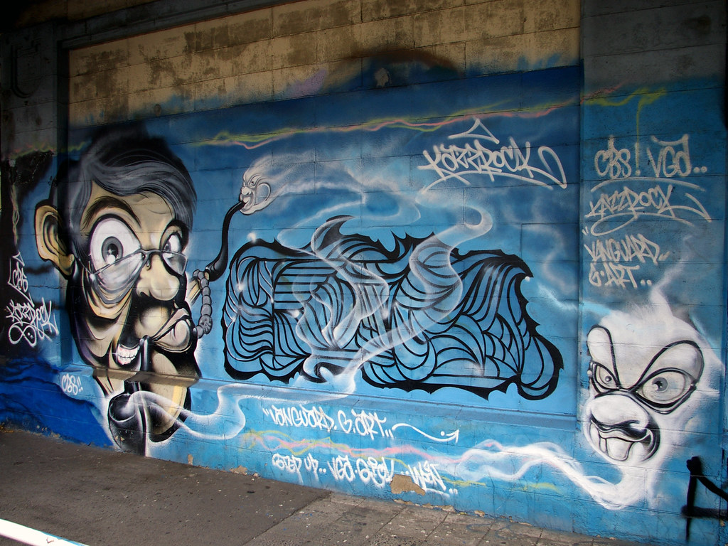 Yokohama graffiti wall -  Kazzrock Cbs Vga By True 2 Death
