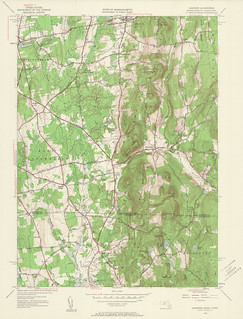 Hampden Quadrangle 1946 - USGS Topographic 1:24,000 | by uconnlibrarymagic