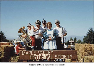 Der Wunderband on Maple Valley Historical Society float at Black Diamond, Labor Day, 1987 | by IMLS DCC