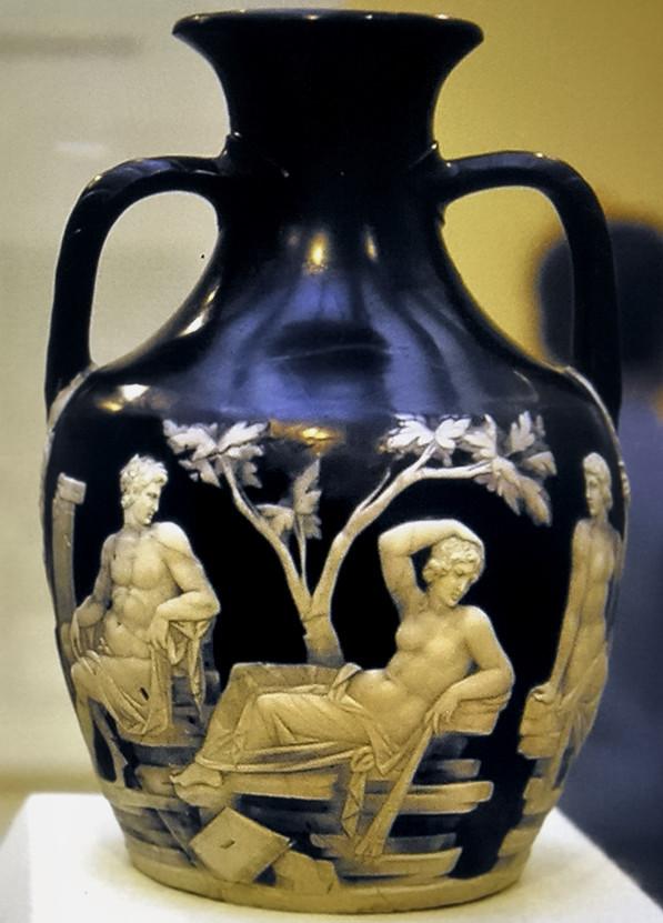 London 1969 British Museum Portland Vase Roman 40 30 Flickr