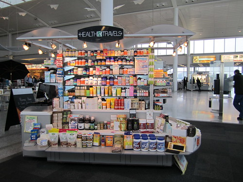Health Travels Booth in Toronto Airport | by veganbackpacker