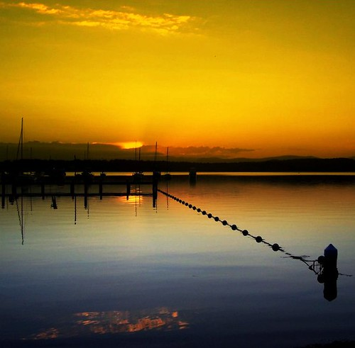As the sun goes down on  Lake Macquarie NSW | by Lady Jayne ~