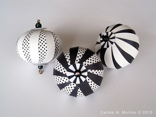 New Paper Ornaments | by Carlos N. Molina - Paper Art