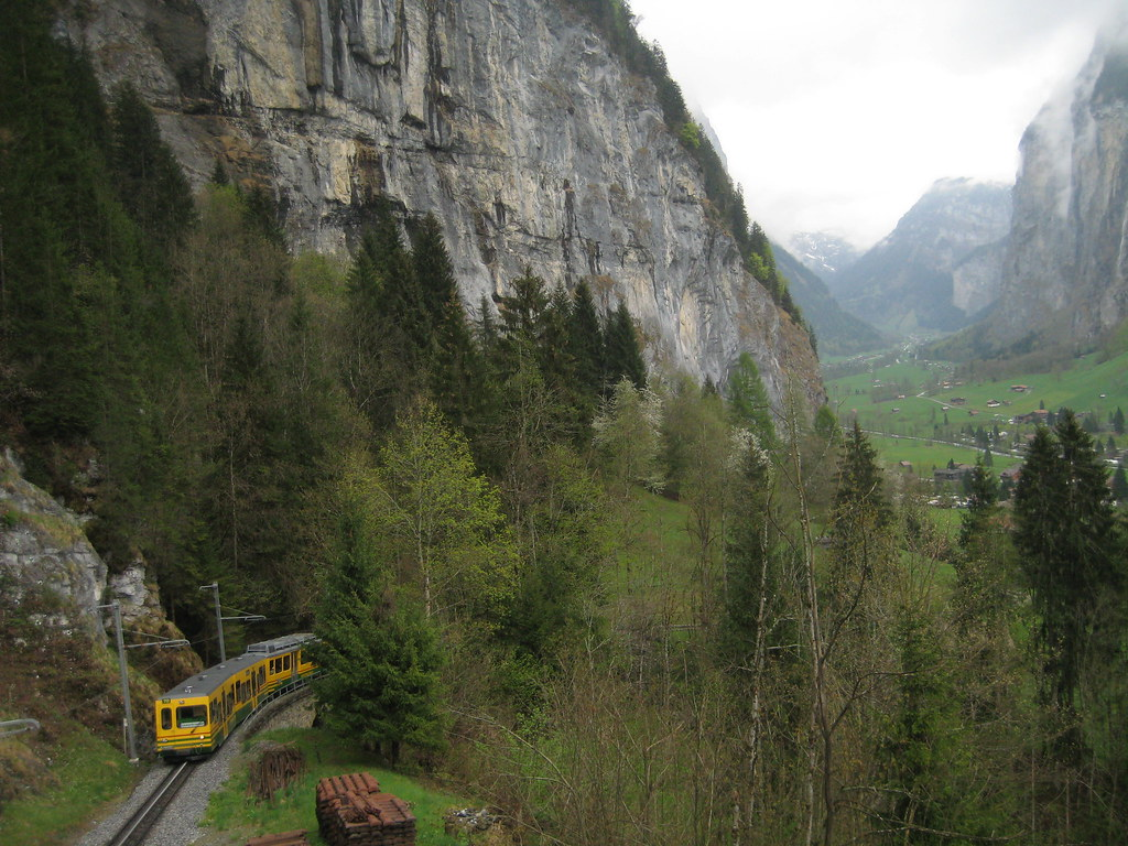 the train to Wengen