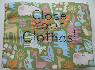 Close Your Clothes book | by forty-two roads