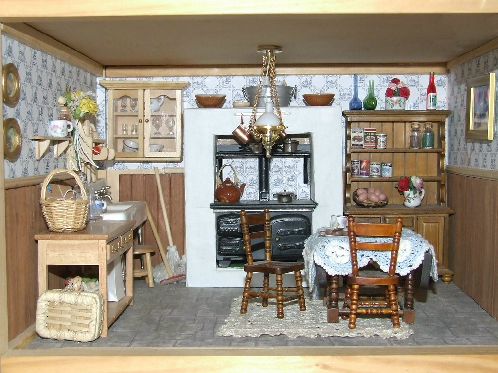 dollhouse kitchen by sarita dawn dollhouse kitchen by sarita dawn - Dollhouse Kitchen