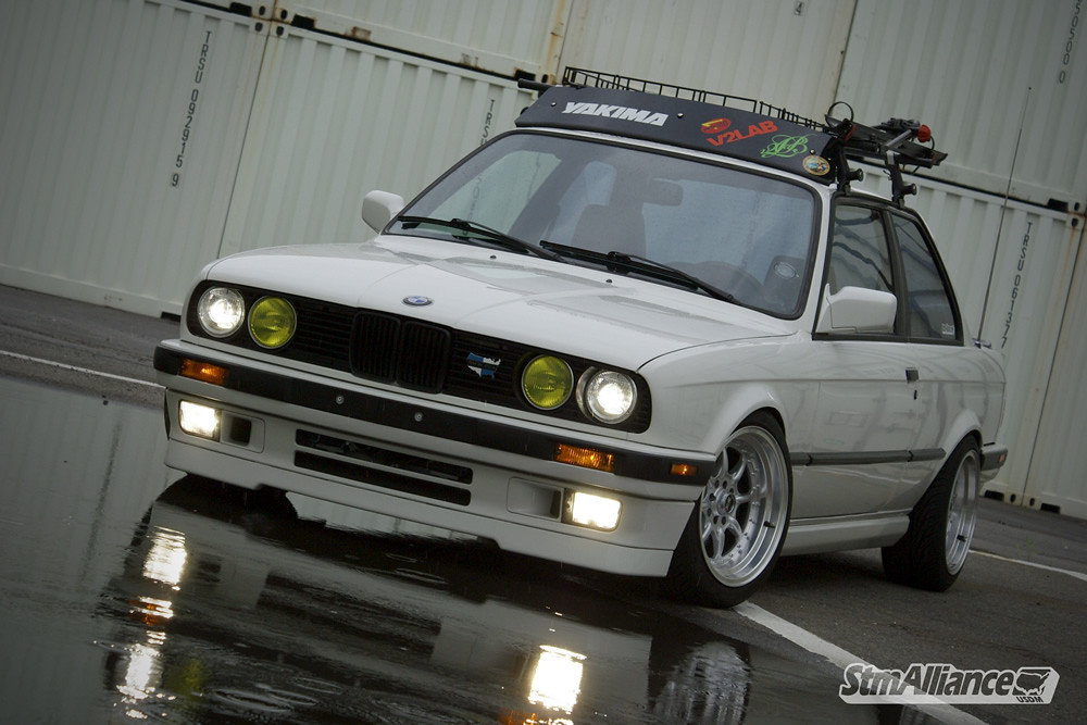 BMW E STM Alliance Flickr - Bmw 1989 e30