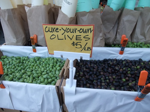 SFO Day 2: Olives at the Ferry Plaza Farmers Market | by swampkitty