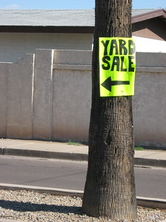 Yard sale sign (#1607) | by Jonathan Ah Kit