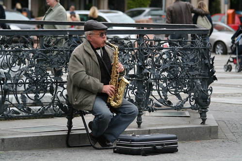 Saxophone player | by vtgard