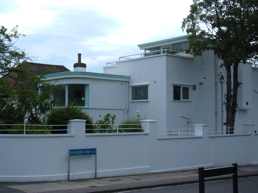 art deco house forest hill london england mattlake flickr