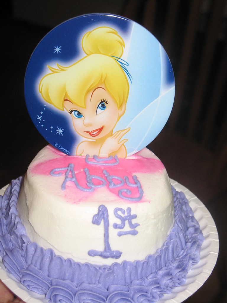 Tinkerbell Cake 1st Birthday Angie Carroll Flickr