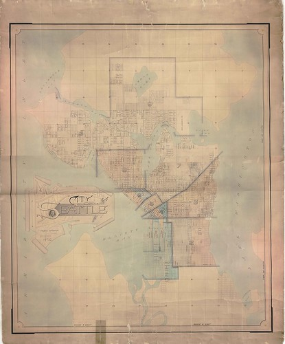 Ward and precinct map, 1891 | by Seattle Municipal Archives