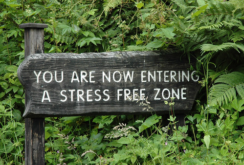 stress free zone | by thornypup