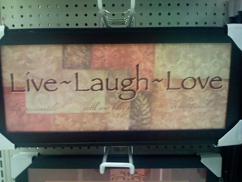 live laugh love 3d - photo #21