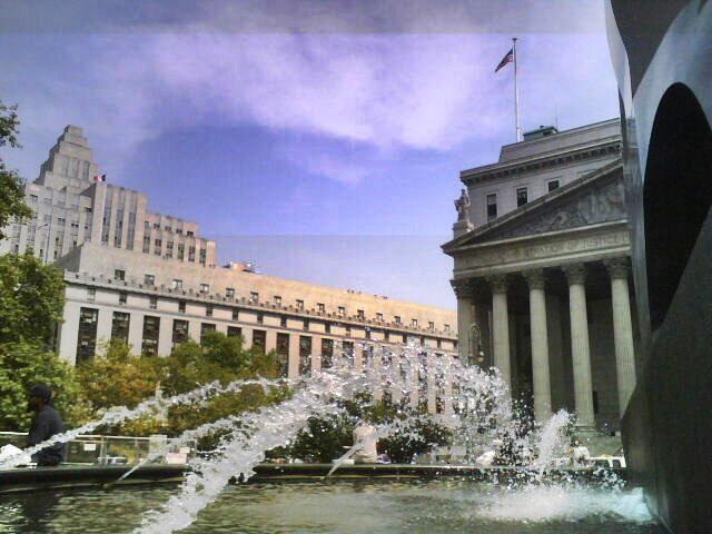 Foley Square view