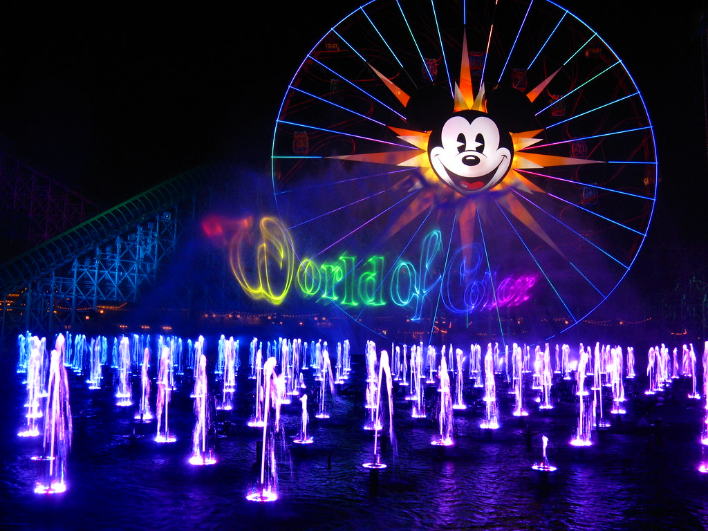 FULL New World of Color Celebrate show at Disney California