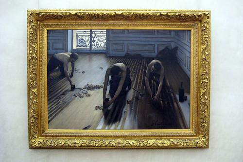 Paris Mus 233 E D Orsay Gustave Caillebotte S Raboteurs De