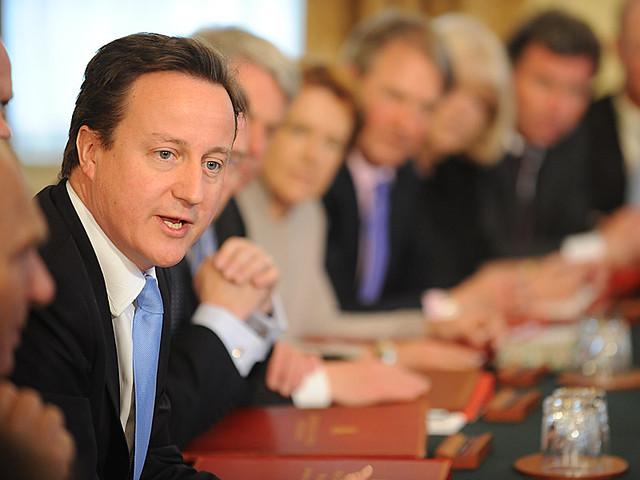David Cameron at first Cabinet meeting | Prime Minister Davi… | Flickr
