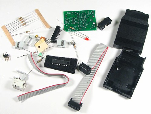USBtinyISP Kit Contents | by oskay