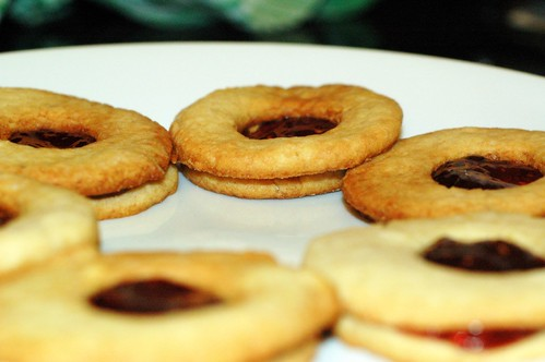 linzer cookies | by sassyradish