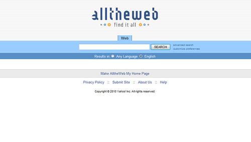 Alltheweb.com: Yahoo Search - Web Search - traffic ...