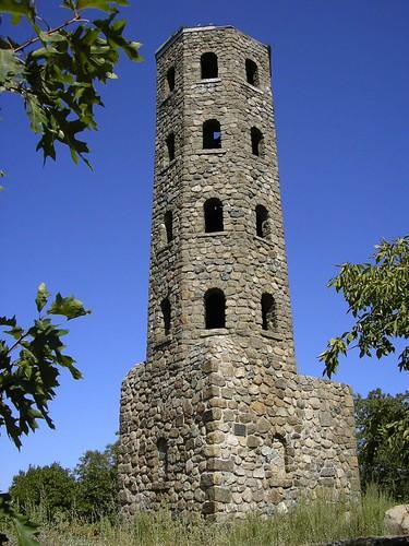 Lynn Woods Stone Tower Lynn Massachusetts Stone Tower