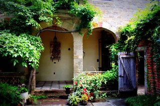 the courtyard | by phoebe reid