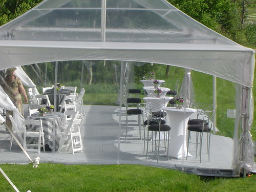 how to build a marquee tent