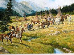 Painting 25 x 36 | by krogers horseman
