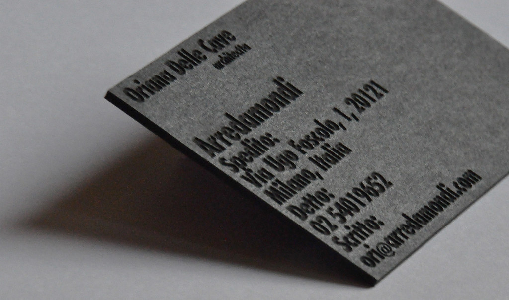 Laser Cut Business Card | Laser cut business cards by b type… | Flickr