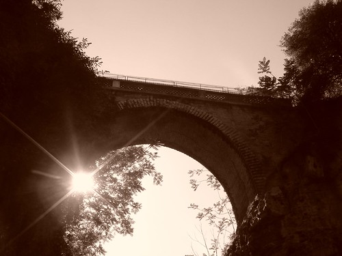 Buttes Chaumont Bridge | by austinevan