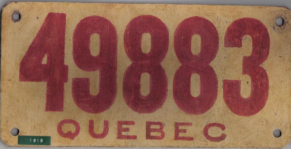 QUEBEC CANADA license plates   Flickr