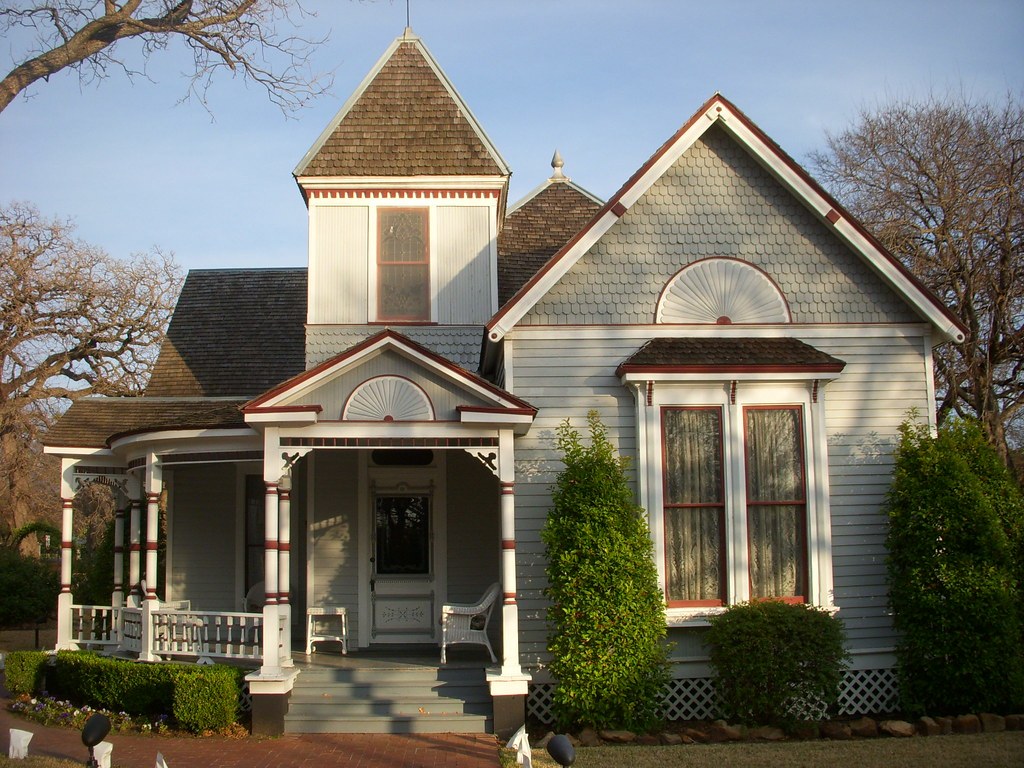 queen anne victorian cottage farmers branch si1very flickr