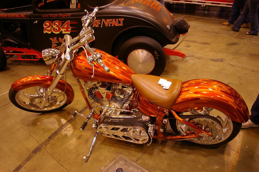 Beautiful Custom Motorcycle Paint | 2006 at America's Center