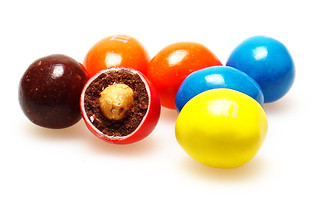 Dark Chocolate Peanut M&Ms | by cybele-
