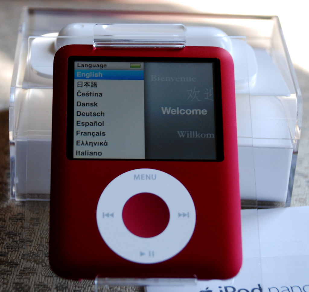 ... iPod Nano (3rd Generation) 8GB - Product Red | by CokeeOrg