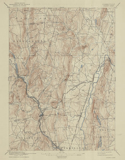 Granby Sheet 1939 - USGS Topographic Map 1:62,500 | by uconnlibrarymagic