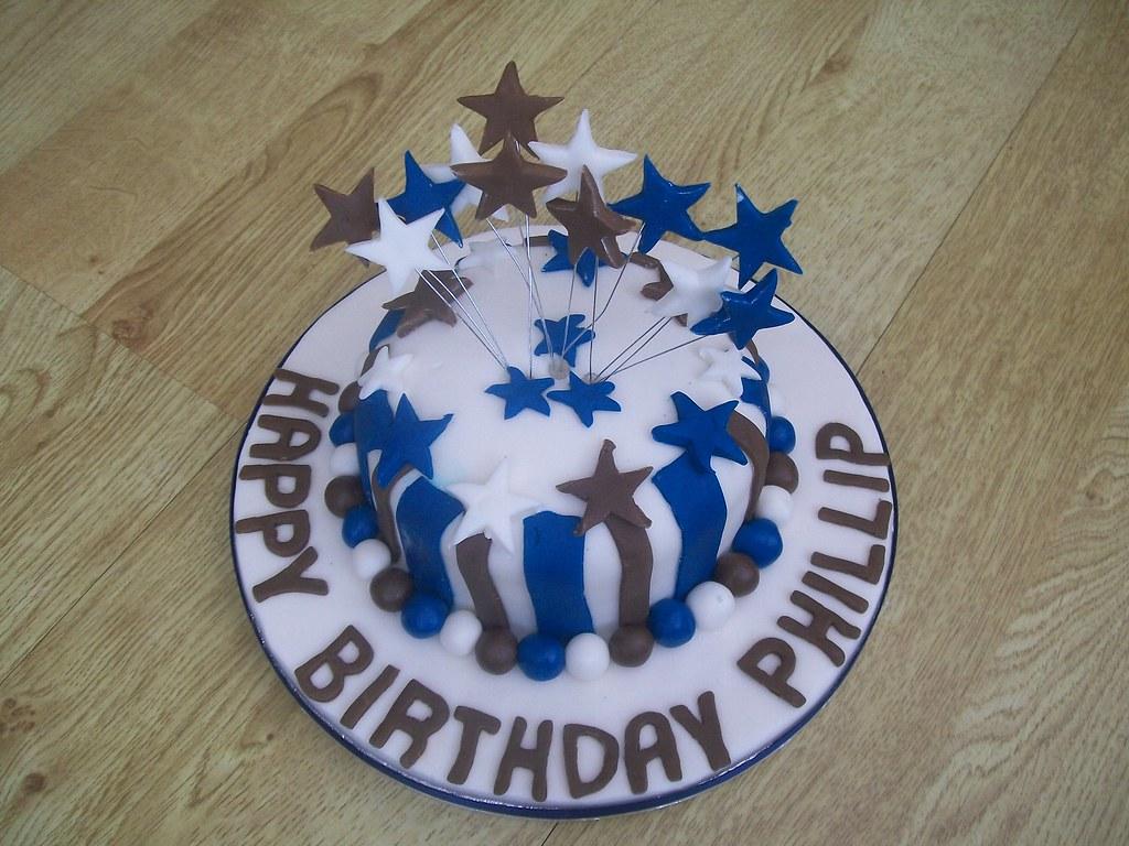 Superb Man Male Birthday Cake Cakeebakey Man Male Birthday Cake C Flickr Funny Birthday Cards Online Ioscodamsfinfo