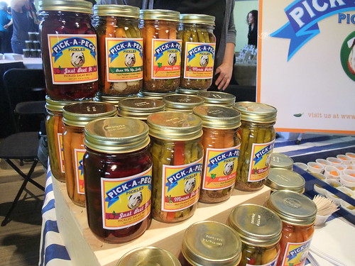 SFO Day 2: Various Pick-a-Peck Pickled Veggies | by swampkitty