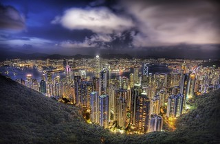Hong Kong from the peak on a summer's night | by Trey Ratcliff
