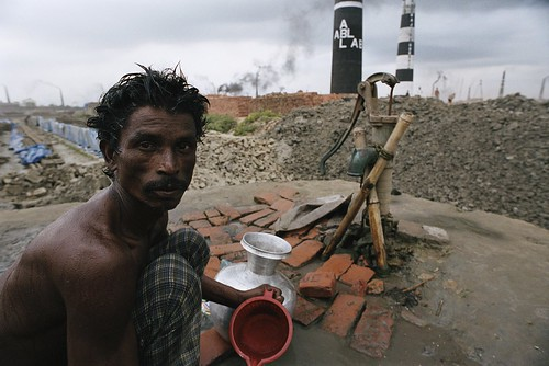 Brick worker at factory. Bangladesh | by World Bank Photo Collection