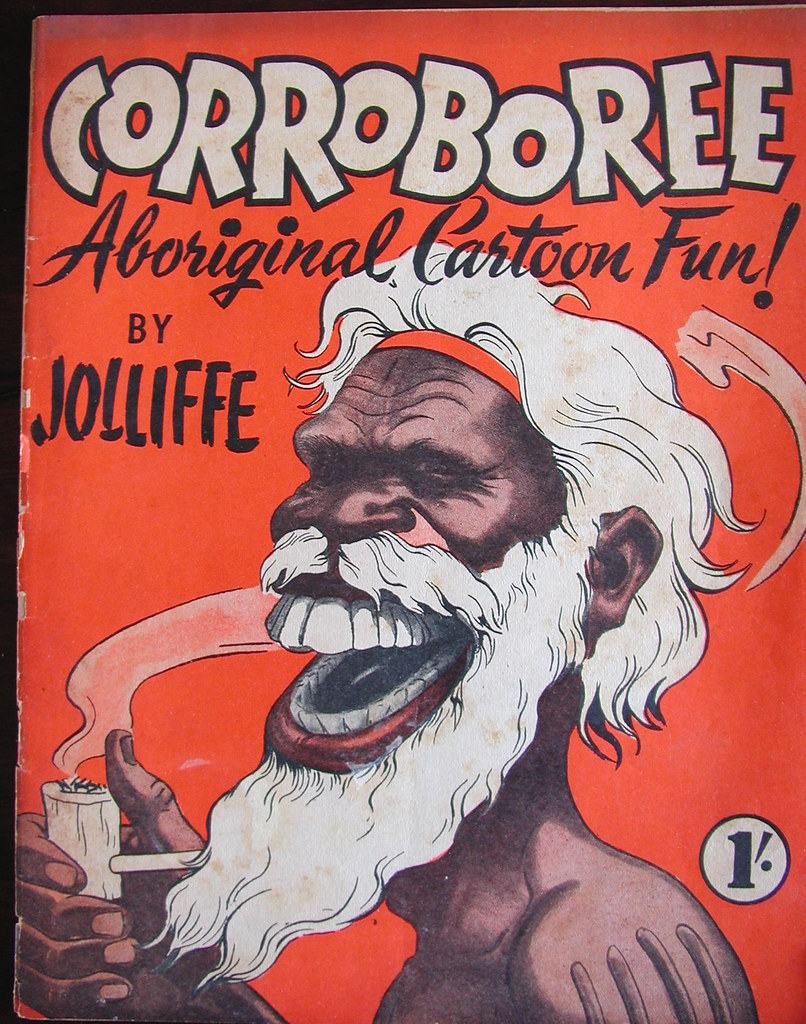 corroboree aboriginal cartoon fun by eric jolliffe flickr