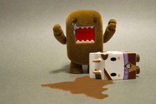 174/365 Don't Cry Over Spilt Chocolate Milk Domo Bear | by Chris Gritti