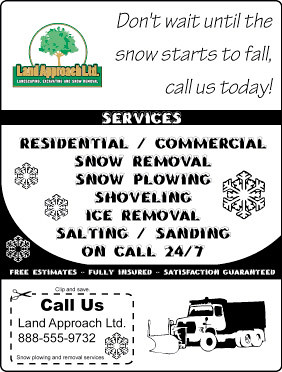 snow plowing flyer template by team_gopher